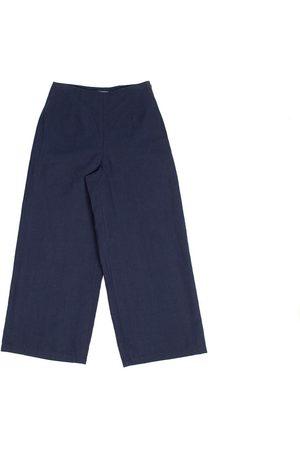 FOLK CLOTHING FOLK Clean Wide Pants - NAVY