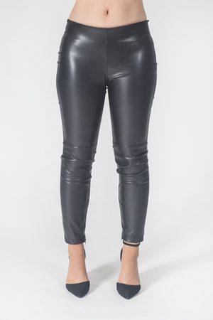 CLIPS Women Jeans - Pantalone ecopelle