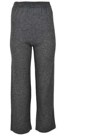 Rosemunde Cashmere Mix Lounge Trousers Medium Grey