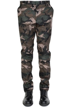 VALENTINO Men Jeans - Camouflage Tailored Trousers