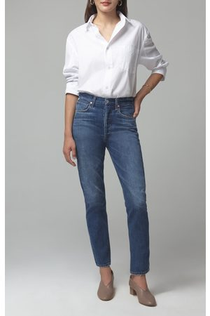 Citizens of Humanity Charlotte High-Rise Straight Fit Hold On Jeans
