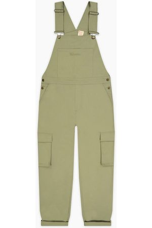 Champion Woven Utility Dungarees Olive