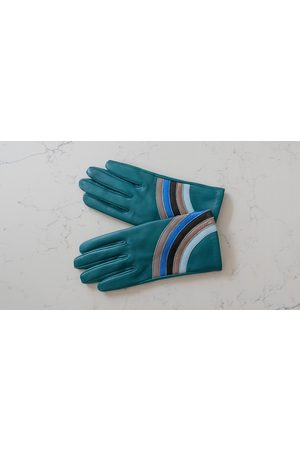 Mabel Sheppard Women Gloves - Metallic Rainbow