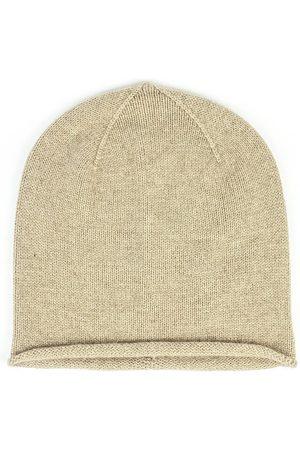 SOMERVILLE . Cashmere Beanie Hat Camel