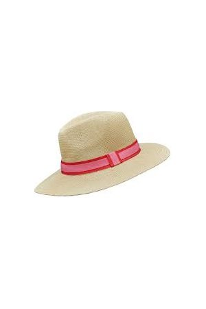 Yunion T Panama Hat with a Coral/Pink