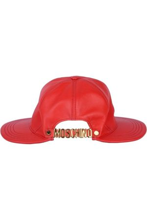 Moschino WOMEN'S A360754700130 LEATHER HAT