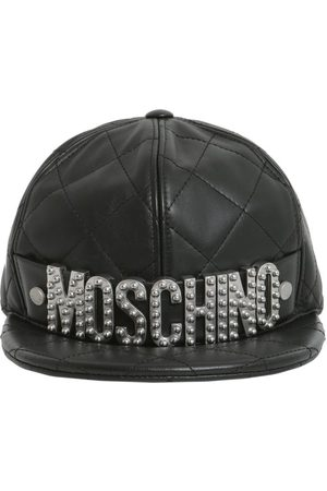 Moschino WOMEN'S A920180711555 LEATHER HAT