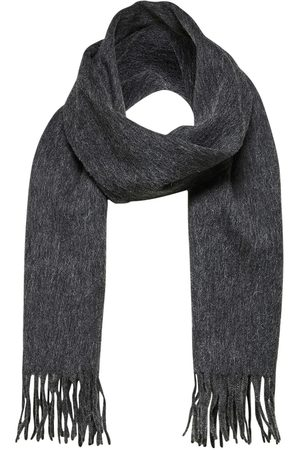 SELECTED Tope Wool Scarf Anthracite