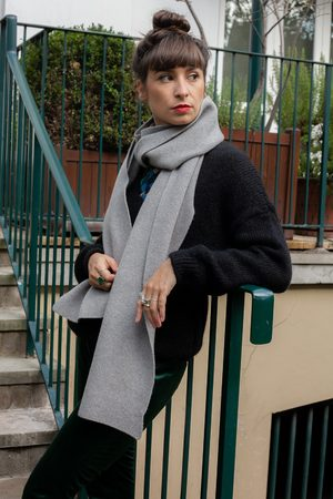 Colorful Standard Heather Grey Scarf
