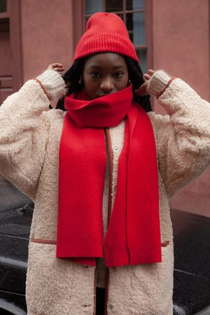 Colorful Standard Scarlet Scarf