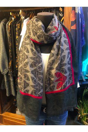 Paradise Boutique Stella Alexander Limited Edition Wool & Silk Moth Scarf