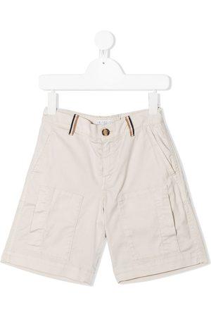 Brunello Cucinelli Kids Knee-length chino shorts
