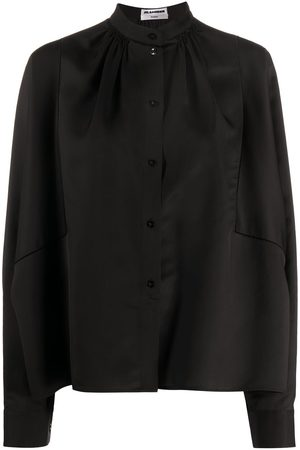 Jil Sander Sunday mandarin-collar loose shirt