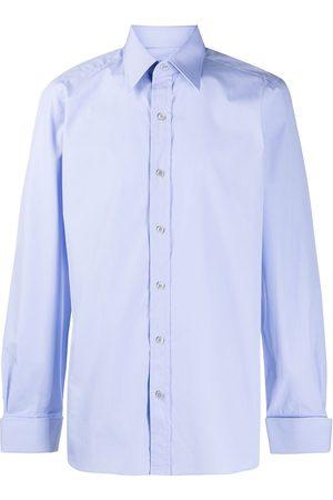 Tom Ford Men Shirts - Cotton-poplin shirt