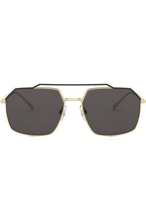 Dolce & Gabbana Men Aviators - Aviator-frame sunglasses