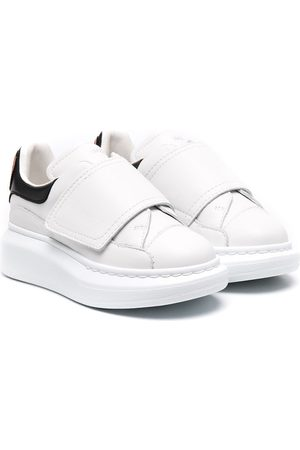 Alexander McQueen Oversized touch-strap sneakers