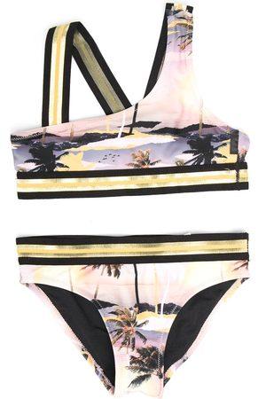 Molo Girls Bikinis - Palm tree print bikini