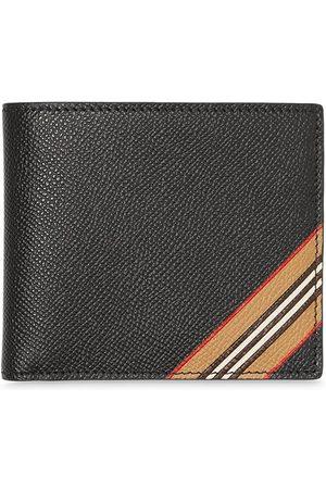 Burberry Men Wallets - Icon stripe bifold wallet
