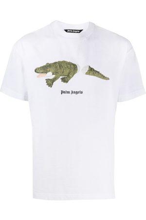 Palm Angels Graphic logo print T-shirt