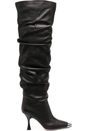 Sergio Rossi Twenty 90mm knee-hight boots