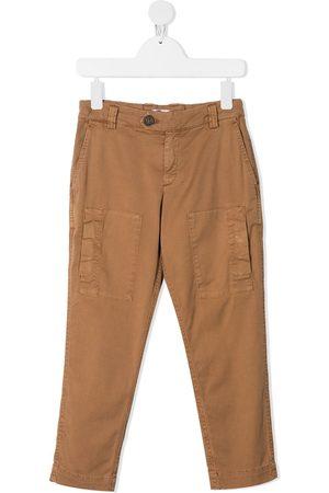 Brunello Cucinelli Kids Slim fit trousers