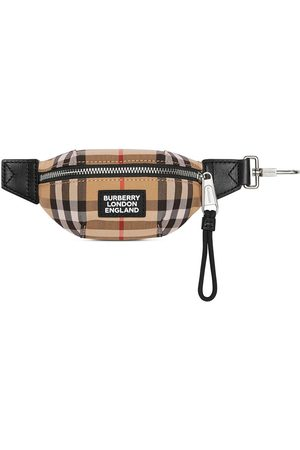 Burberry Check bum bag charm - ARCHIVE