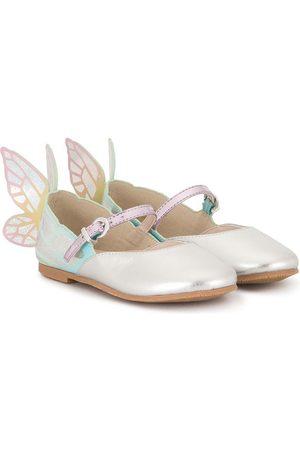 SOPHIA WEBSTER Girls Ballerinas - Butterfly detail ballerinas