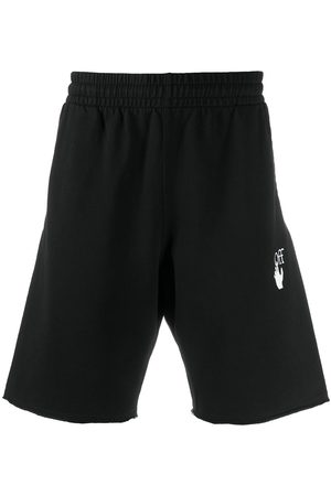 OFF-WHITE Diag stripe sweat shorts