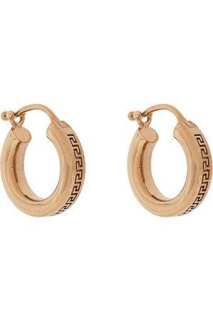 VERSACE Earrings - Greca small hoop earrings