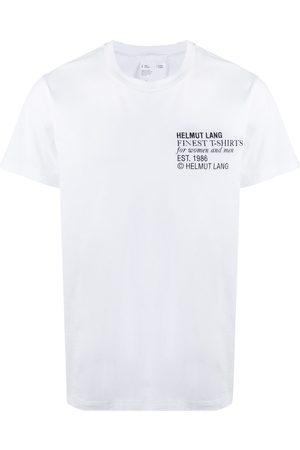 Helmut Lang Finest logo print T-shirt