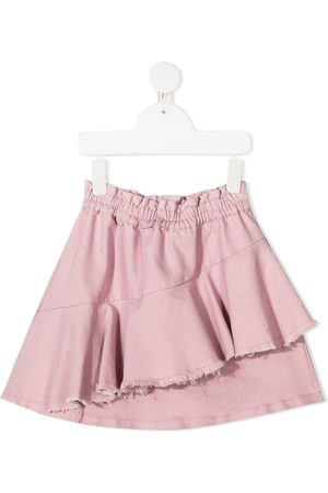 Le pandorine Girls Skirts - Destroyed draped skirt