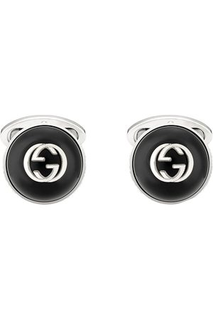 Gucci Men Cufflinks - Logo-plaque cufflinks