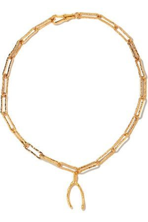 Alighieri The Past Follies 24kt -plated Necklace - Womens
