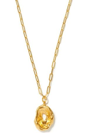 Alighieri The Eager Traveller 24kt -plated Necklace - Womens