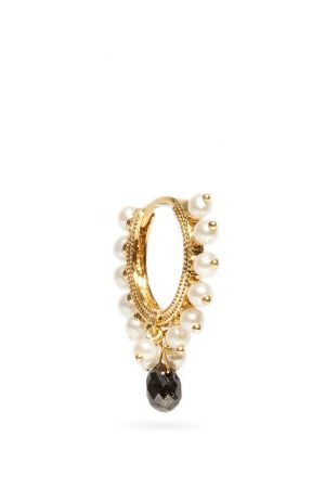 Maria Tash Coronet Eternity Diamond & Single Earring - Womens