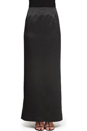 Alex Evenings Women's Satin Column Skirt