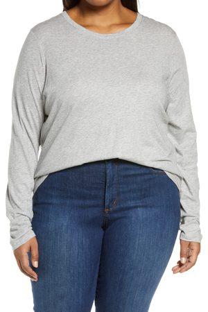 Vince Plus Size Women's Essential Long Sleeve T-Shirt
