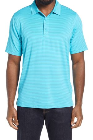 Cutter & Buck Men's Forge Drytec Pencil Stripe Performance Polo