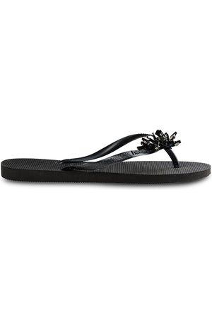 Havaianas Women's Slim Crystal Mineral Flip Flops - - Size 41-42 (11-12)