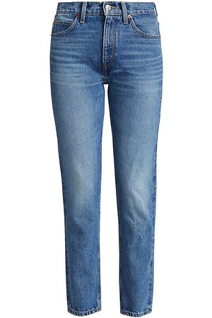RE/DONE Women's 70s Straight-Leg Jeans - - Size 31 (10)