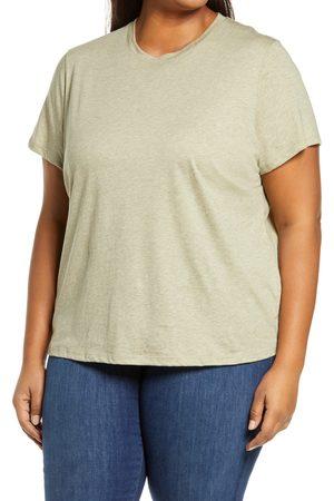 Vince Plus Size Women's Essential Crewneck T-Shirt
