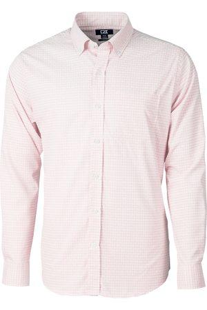 Cutter & Buck Men's Versatech Tattersall Classic Fit Button-Up Performance Shirt