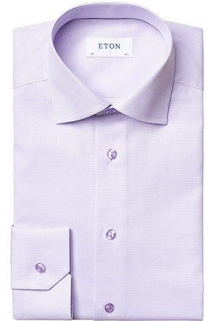 Eton Men's Slim-Fit Textured Solid Dress Shirt - - Size 14.5
