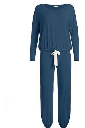 Eberjey Women's Gisele 2-Piece Slouchy Pajama Set - - Size Large