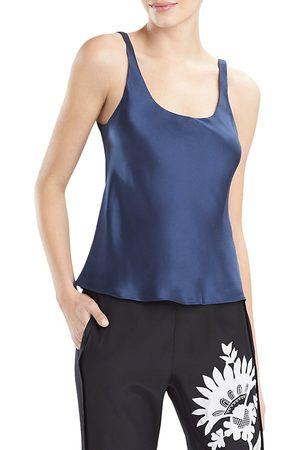 Natori Women's Key Double Layer Silk Tank Top - - Size Small