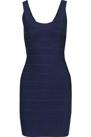 Hervé Léger Hervé Léger Woman Bandage Mini Dress Storm Size M