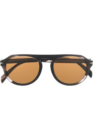 Eyewear by David Beckham 7009/s round-frame sunglasses