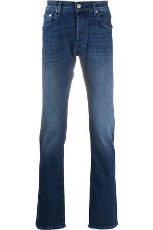 Jacob Cohen Men Straight - Mid-rise straight leg jeans