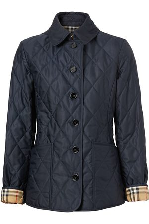 Burberry Women Jackets - Diamond-quilted jacket