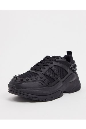 ASOS Chunky studded sneakers in